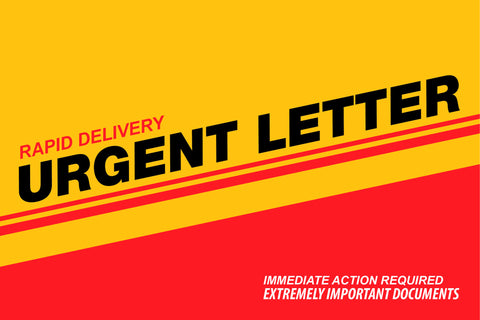 9 x 12 Xpress Envelopes. Urgent Letter Series. XG1008