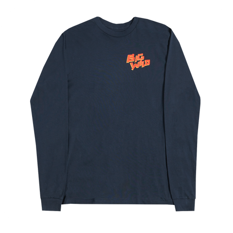 2018 Winter Tour Longsleeve (Navy)