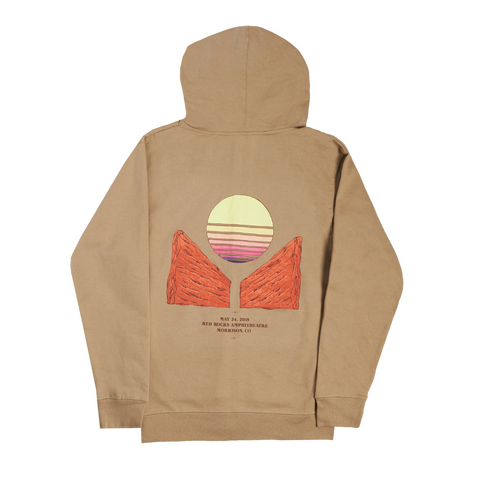 Red Rocks 2018 Commemorative Hoodie