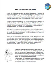Load image into Gallery viewer, Exploring Sleeping Bear: An Educational Guide for Use with The Life of the Sleeping Bear