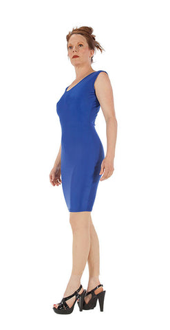 Blue Spandex Dress - Tasty Tiger - 4