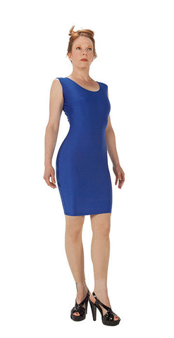 Blue Spandex Dress - Tasty Tiger - 2