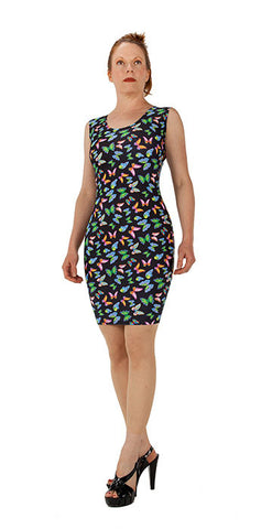 Butterfly Garden Dress - Tasty Tiger - 1