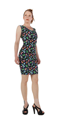 Butterfly Garden Dress - Tasty Tiger - 2