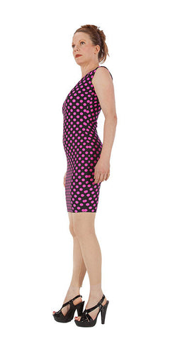 Pink Polka Dot Dress - Tasty Tiger - 2