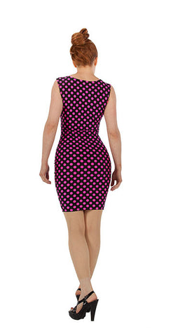 Pink Polka Dot Dress - Tasty Tiger - 3