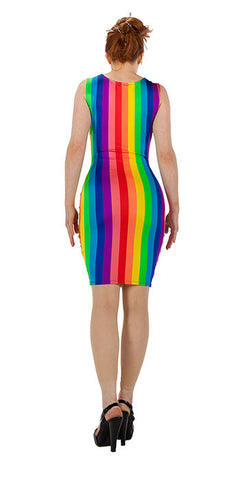 Rainbow Dress - Oh dear! - Tasty Tiger - 2