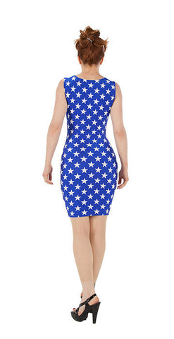 Blue Star Dress - Tasty Tiger - 1