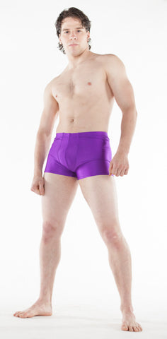 Spandex Boy Shorts - Tasty Tiger - 5