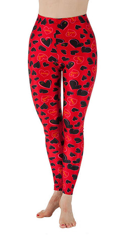 Sweetheart Spandex Leggings - Tasty Tiger - 2