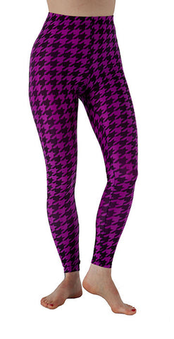 Classic - Twisted: Purple Houndstooth - Tasty Tiger - 1