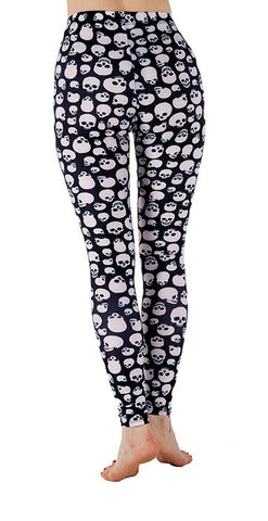 """The Dana"" Skully Leggings - Tasty Tiger - 2"