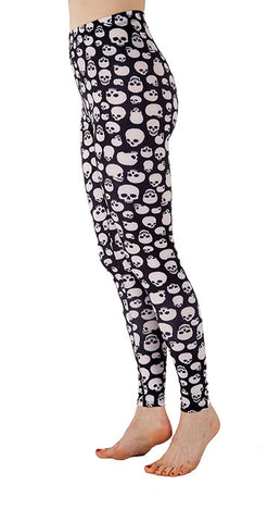 """The Dana"" Skully Leggings - Tasty Tiger - 3"