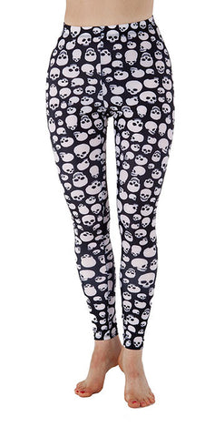 """The Dana"" Skully Leggings - Tasty Tiger - 4"