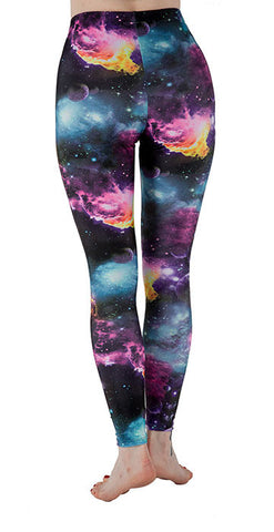 """The Final Frontier"" Leggings - Tasty Tiger - 2"
