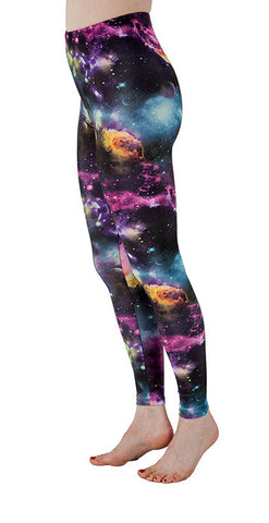 """The Final Frontier"" Leggings - Tasty Tiger - 4"