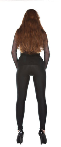 Basic Black Spandex Leggings - Tasty Tiger - 2