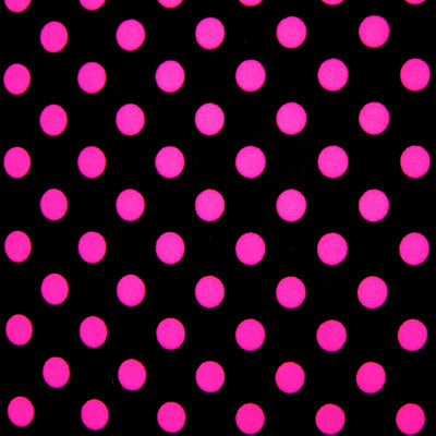 Black and Pink Dots Spandex Leggings - Tasty Tiger - 6