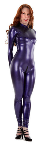 Purple Busty PVC Catsuit Pre-order - Tasty Tiger - 1