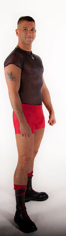 Spandex Boy Shorts - Tasty Tiger - 2