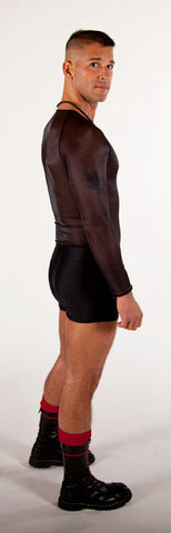 Spandex Boy Shorts - Tasty Tiger - 1