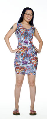 Dragon Tattoo Dress - Tasty Tiger - 4