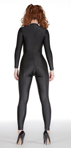Spandex Back Seam Catsuit - Tasty Tiger - 2