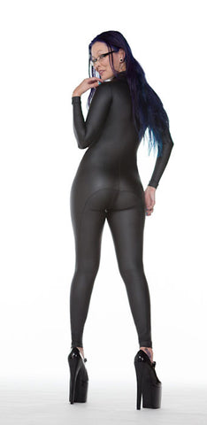 Leather Look PVC Catsuit - Tasty Tiger - 2