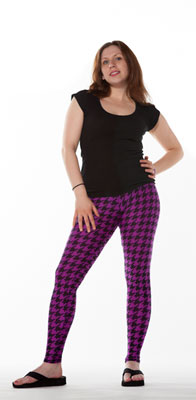 Classic - Twisted: Purple Houndstooth - Tasty Tiger - 4