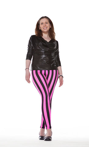"""The Rockstar"" Leggings - Tasty Tiger - 4"