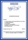 Salon Starter Package - Exclusive Salon Cosmetics Package - Vitali-Chi - Pure and Natural