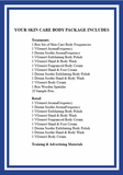 Skin Care Body Package