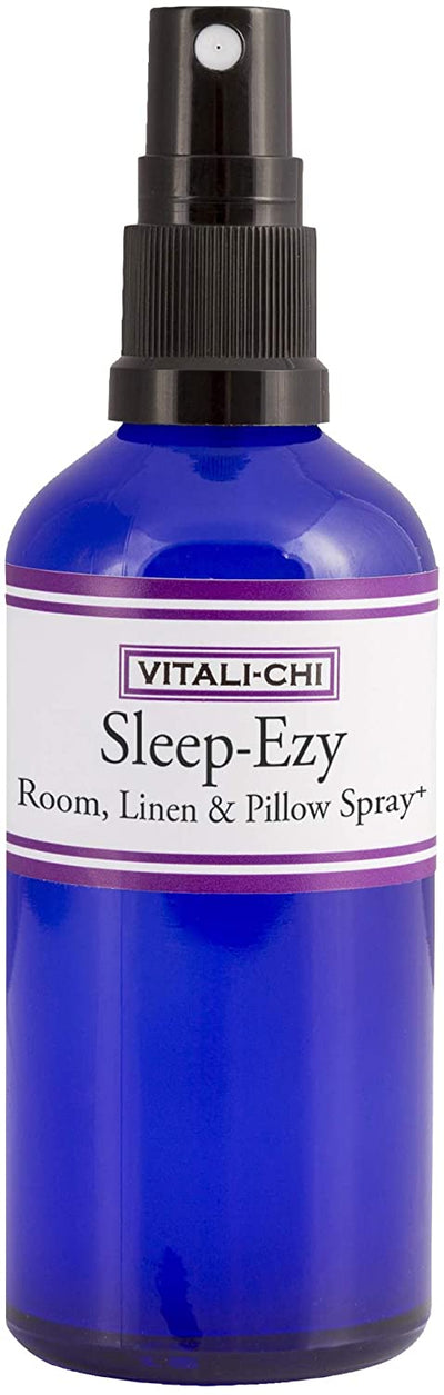 Sleep-EZY Aura + Pillow Spray - Made With Lavender and Chamomile Pure Essential Oils - To Help You Get a Good Nights Sleep 100ml