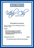 Level 1 - Physical Workshop, Stages 1 + 2 + Starter + Wellbeing Packages - Vitali-Chi - Pure and Natural