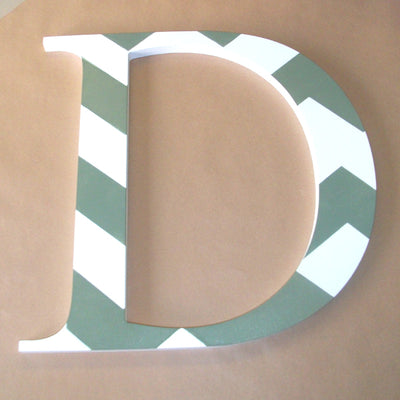 Chevron Stencil 'D' for decoration
