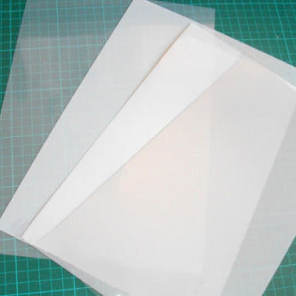 image of mylar sheets in different grades