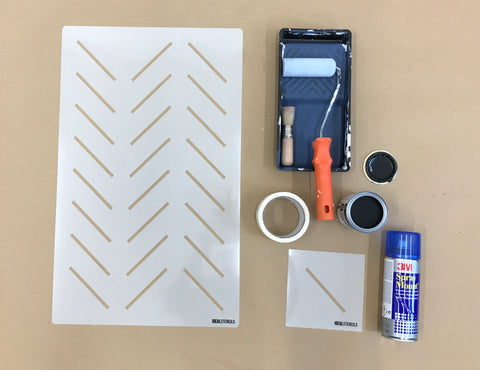 materials for stenciling