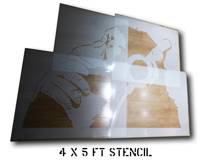 Custom Monkey stencil Ideal Stencils