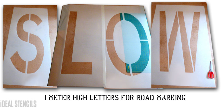 custom road marking stencil