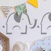Elephant Nursery Decor Stencil