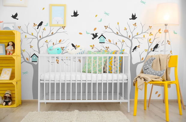 Nursery Tree Mural Stencil Set