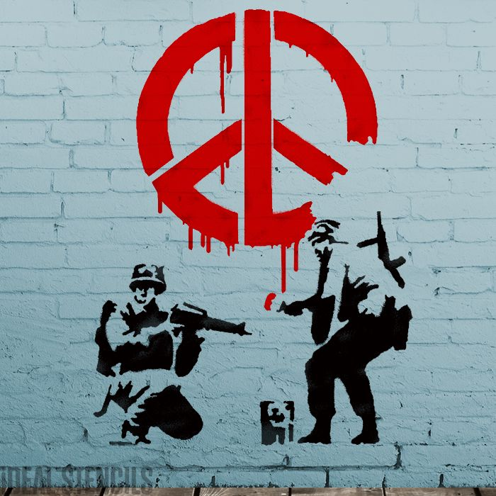 Banksy CND Soldiers XL