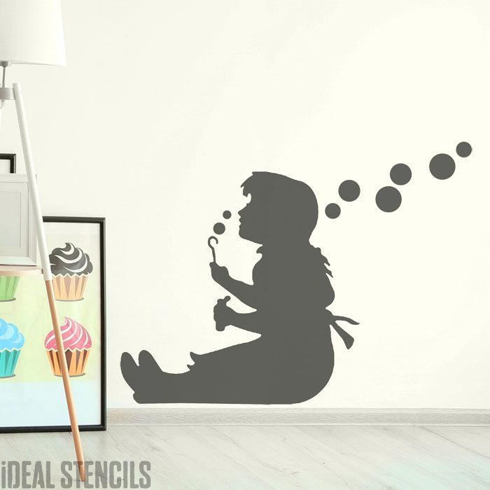 Banksy Girl Blowing Bubbles - Life Size
