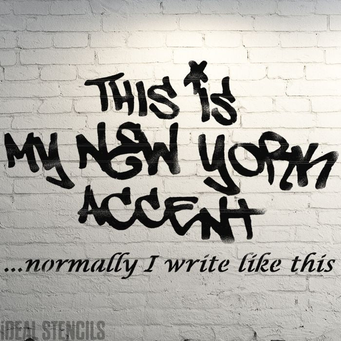 Banksy  'New York Accent' XL