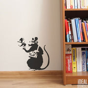 Banksy Radar Rat