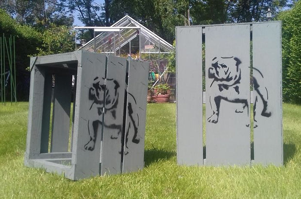 British Bulldog Stencil