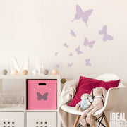 Butterfly Nursery decor Stencil