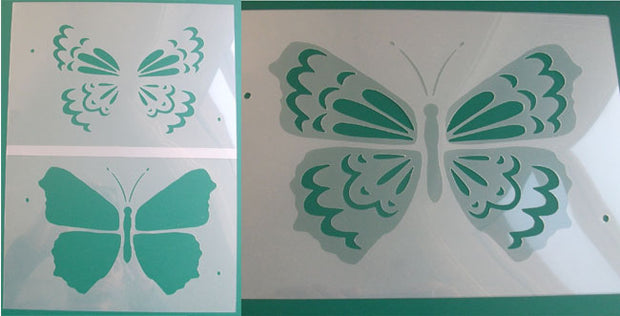 Butterfly Stencil - 2 layer