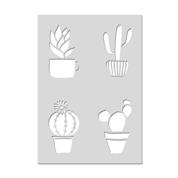 Cactus Craft Sheet Stencil