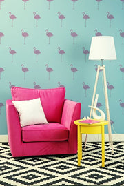 Flamingo Pattern Stencil
